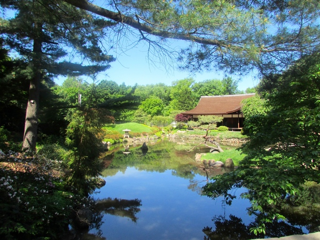 Shofuso, also known as Japanese House and Garden, is a traditional 17th century-style Japanese house and garden located in Philadelphia's West Fairmount Park.