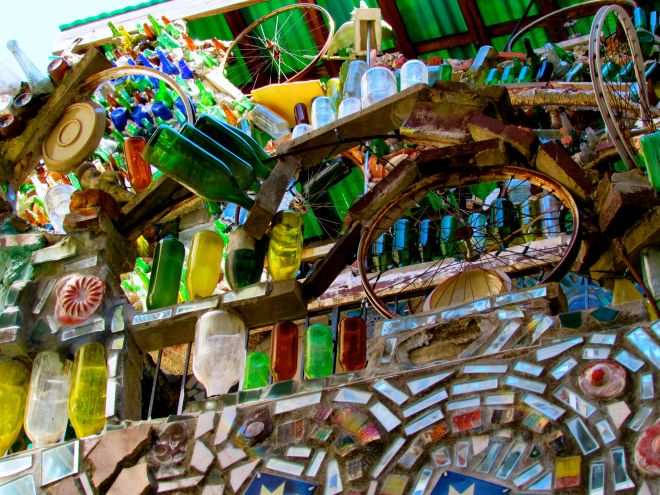 Artistic chaos: the glory that is the Magic Garden on South Street in Philadelphia.
